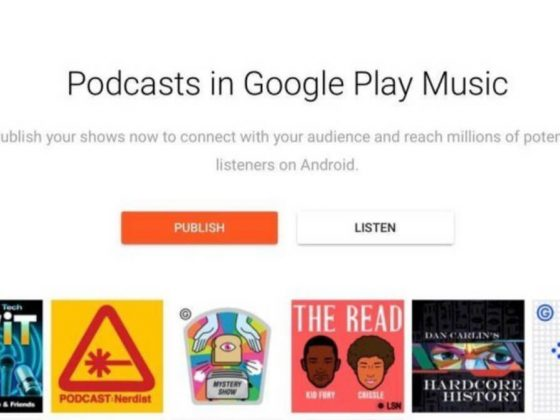 Los podcasts llegan finalmente a Google Play Music