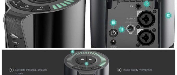 Nueva grabadora Spire Studio: multicanales para el iPhone y la iPad
