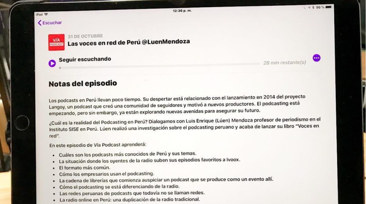 la aplicación de Podcasts de Apple cambió de mal en peor.