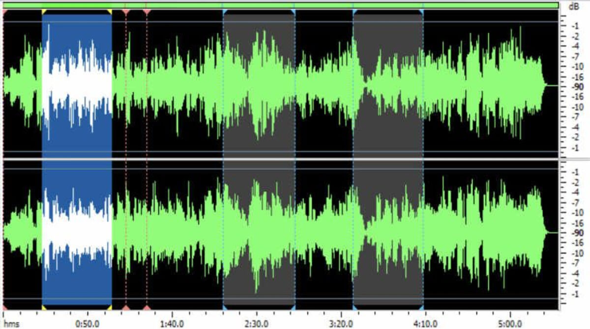Editar audio Descript