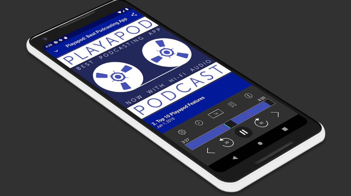 Playapod nueva aplicación para escuchar Podcasts