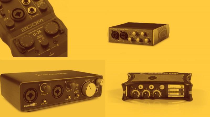 ¿Cómo seleccionar una interfaz de audio?