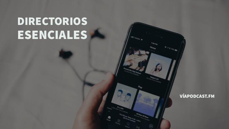 'Directorios de Podcast en español'