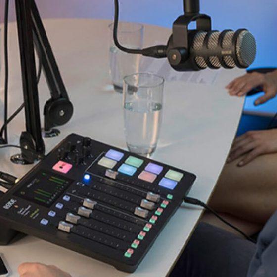 RØDECaster Pro – Studio: una innovación que facilita crear podcasts