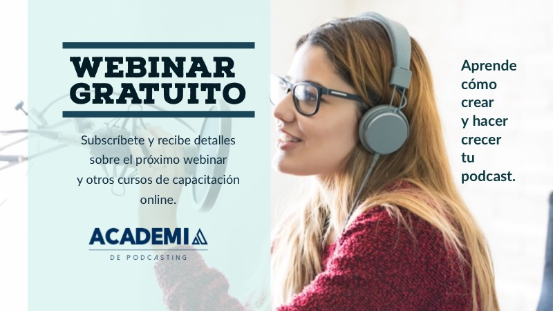 Academia de a podcasting