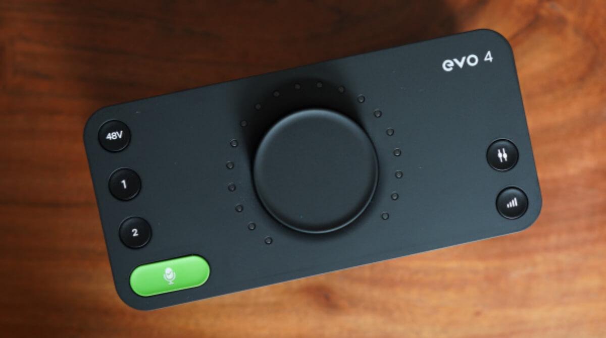 Audient EVO 4 una interfaz de audio minimalista de buen sonido y precio
