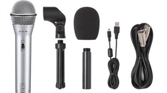 Samson Q2U un excelente micrófono para comenzar un Pódcast