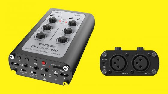 Interfaz de audio PortCaster