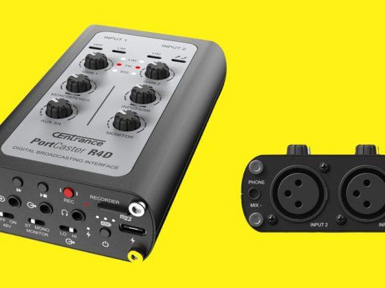 Interfaz de audio PortCaster